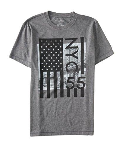 Aeropostale Mens Flag Graphic Shirt