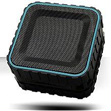 TANK BASS Outdoor Waterproof Bluetooth Portable Speaker USP-600 / Handsfree sports Smartphone samsung Apple IOS A5 A6 A7 S5 S6 S7 Note Vega (Blue)