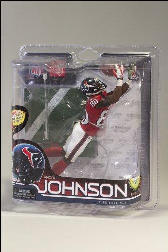 Andre Johnson Houston Texans - McFarlane Houston Texans Andre Johnson Figurine-Series 28