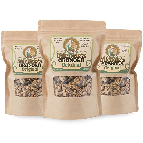 Michele's Original Granola 3 Pack – Handmade, Organic, Vegan, GMO-Free, 12 Ounce Bags