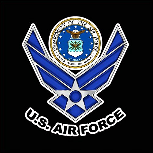 NI530-USAF-United-States-Air-Force-Decal-Sticker-55-Inches-By-5-Inches