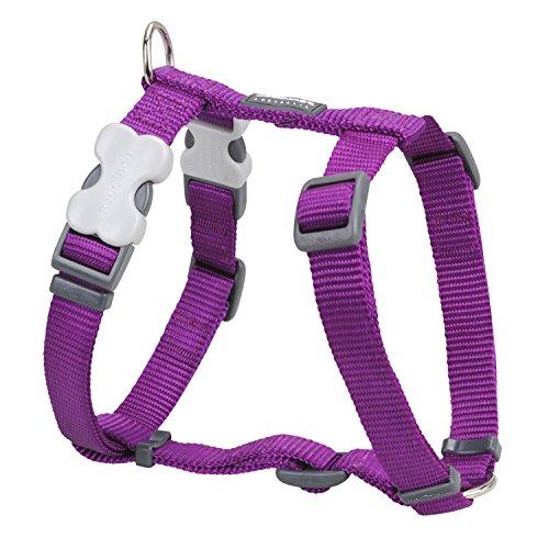 Red Dingo Classic Dog Harness, Small, Purple