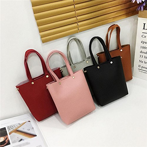 Pink TOOPOOT amp;Handbag Bag color Pure Women Corssbody Bags With Crossbody Bags Shoulder Deals Clearance Shoulder Saddle qgxOw5WZn6