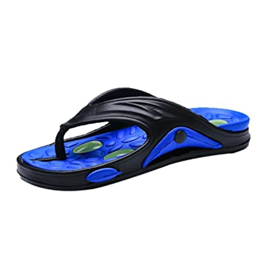 pick up search for genuine latest style Amazon.com: Mens Flip Flops Flat Sandals On Sale Casual ...