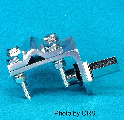 경광등 마운트 브릿지 - 단일 그루브 - CB RADIO ANTENNA - WORKMAN RV1 용 W SO239 STUD/MIRROR MOUNT BRACKET - SINGLE GROOVE - W  SO239 STUD for CB RADIO ANTENNA - WORKMAN RV1