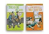 Early Reading Abridged Classics Set - Treasure Island and The Adventures of Tom Sawyer
