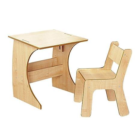 Amazing Amazon Com Kids Furniture Solid Wood Table And Chair Set Inzonedesignstudio Interior Chair Design Inzonedesignstudiocom