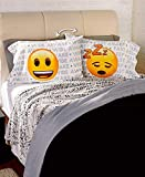 The Lakeside Collection 2 Pk. Emoji Pillowcases