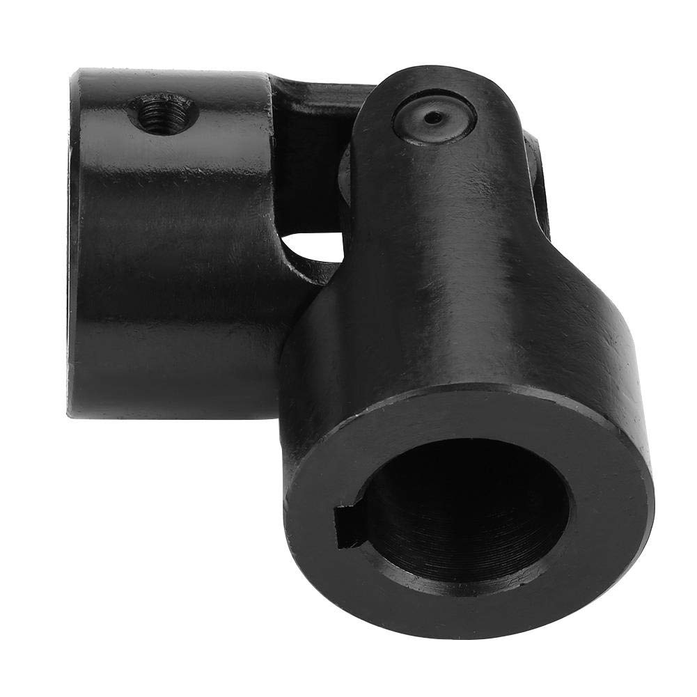Practical Shaft Coupling Motor Connector DIY Steering Universal Joint with Keyway 30x49x108mm for Industrial Universal Coupling
