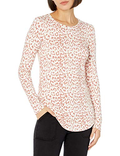 Amazon Brand – Daily Ritual Women's Supersoft Terry Long-Sleeve Shirt with Shirttail Hem