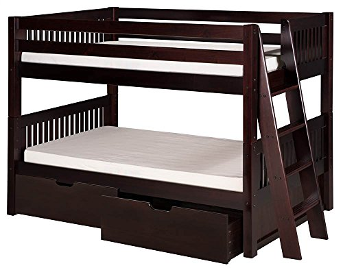 Twin Low Height Bunk Beds With Ladder