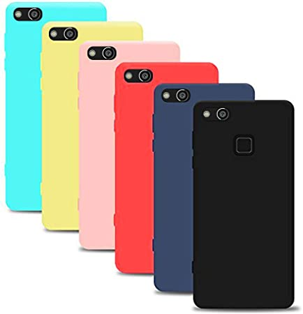 Silingsan 6X Funda Huawei P10 Lite(5.2 Pollici), Carcasa Color ...