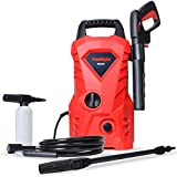 PowRyte 1600 PSI 1.6 GPM Electric Pressure Washer, Power Washer with External Detergent Dispenser