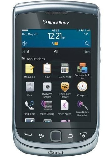 Blackberry Torch 9810 Unlocked GSM Phone with OS 7.0, Touchscreen, Slider-QWERTY Keboard, Optical Trackpad, 5MP Camera, Video, GPS, Wi-Fi, Bluetooth and microSD Slot - Silver (Certified ()