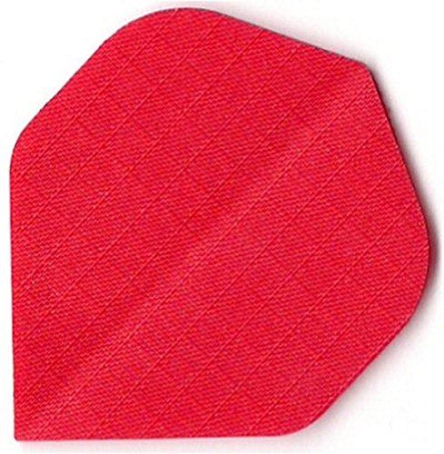 US Darts - 3 Sets (9 Flights) Red Nylon Standard Dart Flights - Cloth, Fabric, Ripstop