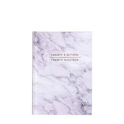 Agenda con cubierta con diseño de mármol, formato A6, agenda ...