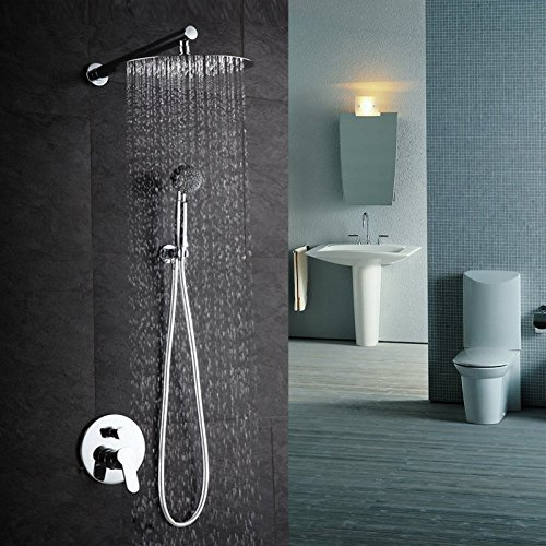 NearMoon High Pressure Stainless Steel Bath Shower