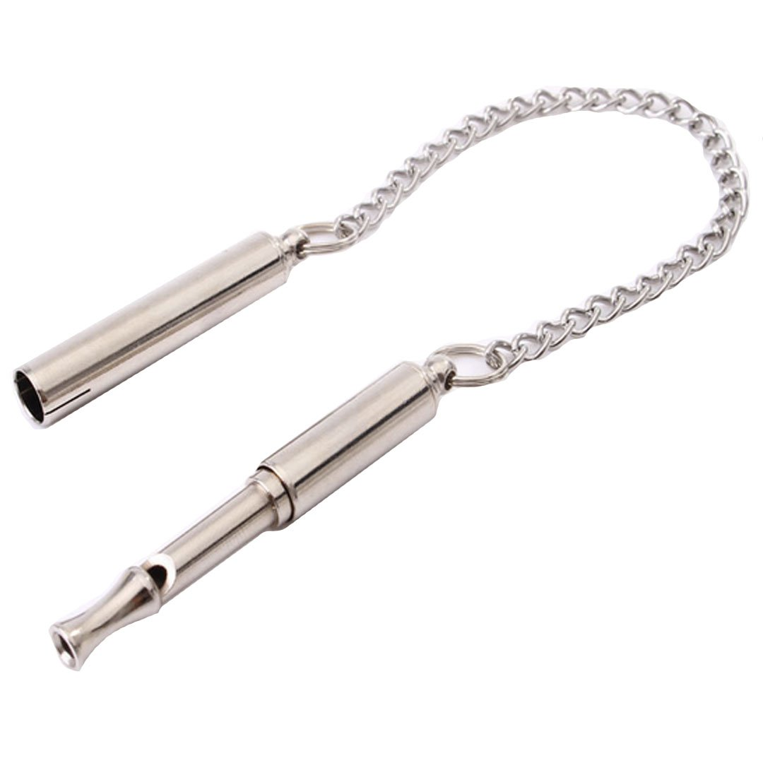 Sherry Dog Training Whistle Professional Doggie Ultrasonic Whistle Stainless Steel Calling Whistle to Stop Barking (Silver)
