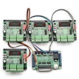SainSmart 4 Axis TB6560 CNC Stepper Motor Driver Controller Board Kit,57 two-phase,3A