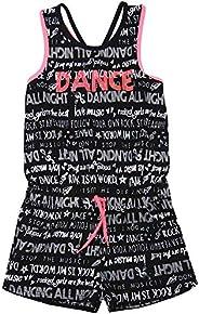 Losan Junior Girls Romper in Dancing Print, Sizes 8-16