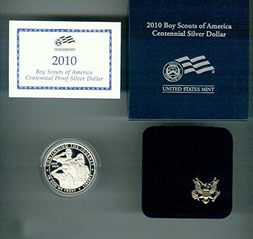 2010-P Boy Scouts of America Proof Silver Dollar