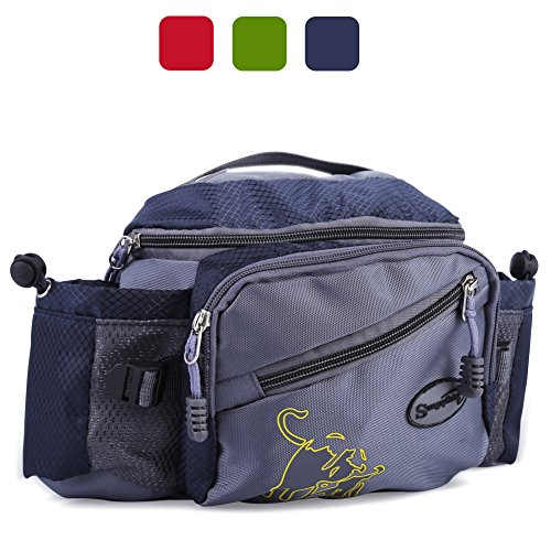 Sougayilang Fishing Tackle Bag Outdoor Waist Bags