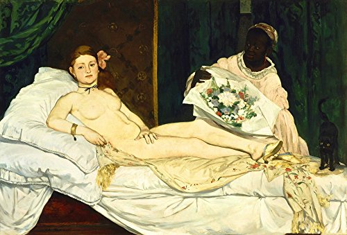 Berkin Arts Edouard Manet Giclee Canvas Print Paintings Poster Reproduction ... (Olympia) ()