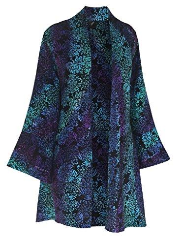 Kimono Sweater Jacket - Fashion Fulfillment Plus Size Kimono   Handmade Kimono Style   Women Tunic Jacket, One Size 1x-3x