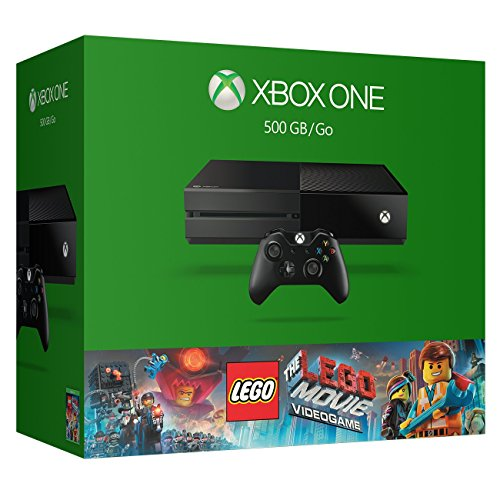 Xbox One 500GB Console – The LEGO Movie Videogame Bundle (Certified Refurbished)
