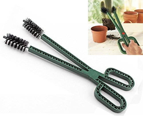 CLEVER BEAR Garden Plastic Cactus Pliers for Moving Cactus Plants Clip by CLEVER BEAR