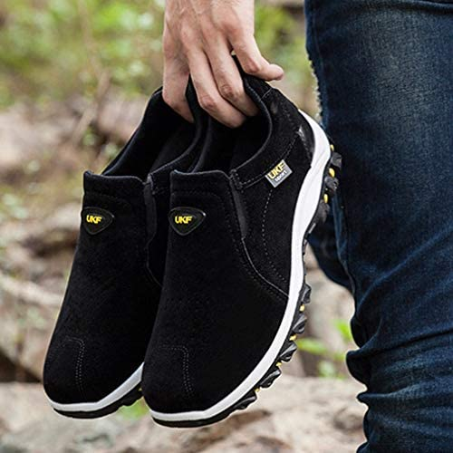 アウトドアシューズ トレッキングシューズ メンズ ローカット 4e ハイキングシューズ メンズ 登山靴 ウォーキングシューズ スリッポン アウトドア カジュア ル メンズ 耐摩耗性 ローカット 靴 スニーカー メンズ 4E
