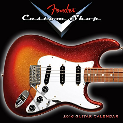 fender custom shop 2015 calendar - 5