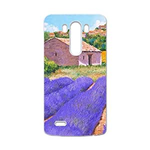 The country beautiful purple garden Phone Case for LG G3