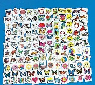 Fun Express Mega Tattoo Assortment (1500 Piece)
