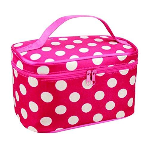 Storage Box,IEason Clearance Sale! Women Ladies Expandable Travel Hanging Wash Bag Toiletry Organizer Make Up Pouc (M)