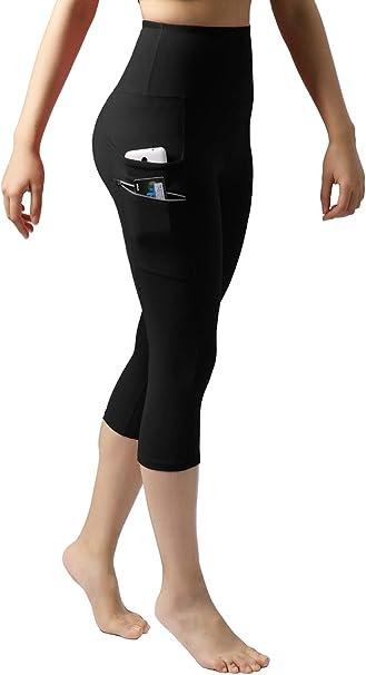 Amazon.com: ODODOS pantalones de entrenamiento de cintura ...