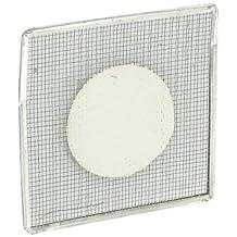 "Ajax Scientific Galvanized Steel Wire Gauze Square with Ceramic Centre, 6"" Length x 6"" Width"
