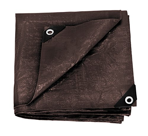 Stansport Reinforced Brown Rip Stop Tarp product image