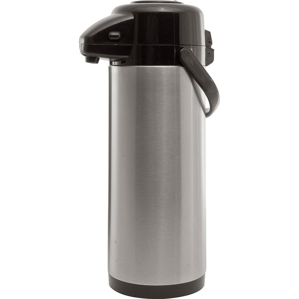 Service Ideas AXS30S Economy Airpot with Pump, Stainless Steel Lined, 3 L by Service Ideas
