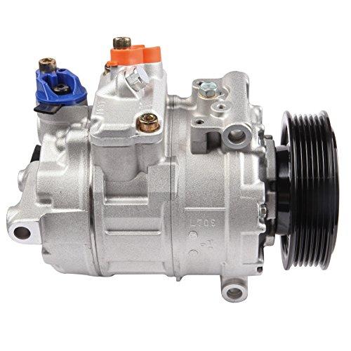 Passat A/c Compressor - ECCPP Replacement for A/C Compressor fits 2014-2015 Volkswagen Jetta/Passat 1.8L Tiguan 2.0L 09-15