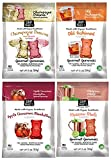 Project 7 Non-Alcoholic Gourmet Cocktail Flavored Gummies (Moscow Mule, Champagne Dreams, Apple Cinnamon Manhattan, and Old Fashioned, 2 oz)