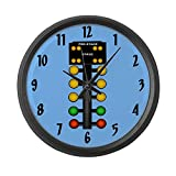 Cheap CafePress – Christmas Tree – Large 17″ Round Wall Clock, Unique Decorative Clock