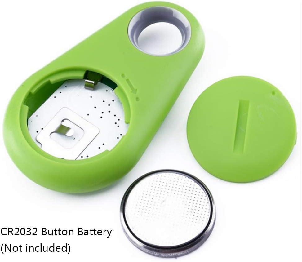Ba30DEllylelly Mini localizador GPS llavero rastreador inal/ámbrico parche de seguimiento Anti Lost Finder Smart Tracer Localizador GPS rastreador de perros y mascotas