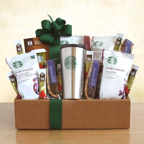 Coffee Indulgence Deluxe Coffee Gift Basket