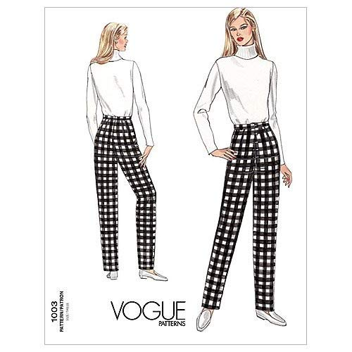- Vogue Patterns V1003 Misses' Fitting Shell, Size 8