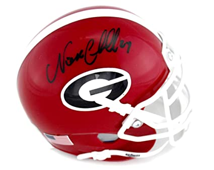 GEORGIA BULLDOGS NCAA Signature Series Full Size Autograph FOOTBALL