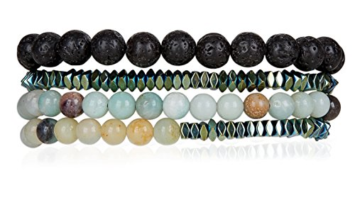 Powerful Amazonite Hematite SPUNKYsoul Collection