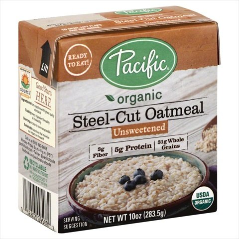 Pacific Natural FoodsOrganic Pnf Unsweetened Oatmeal 10 Oz (Pack Of 12)