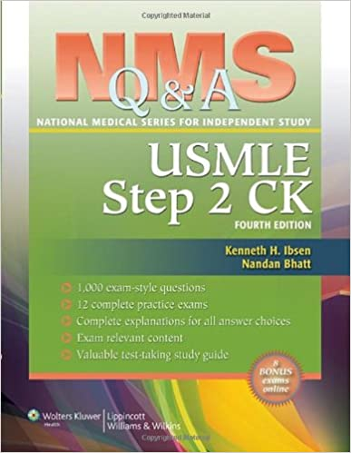 Nms qa review for usmle step 2 ck national medical series for nms qa review for usmle step 2 ck national medical series for independent study fourth edition fandeluxe Images