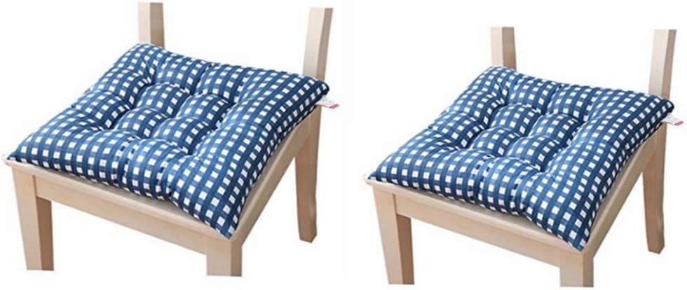 Dadaaa Dining Chair Cushion Pad Pad For Dining Chairs Garden Kitchen Dining Chairs Ties Pack Of 2 Amazon De Kuche Haushalt